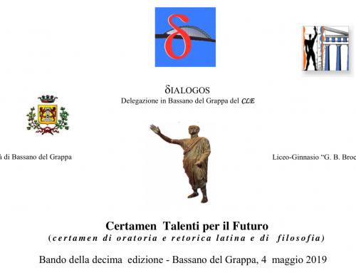 Certamen Talenti per il Futuro X edizione