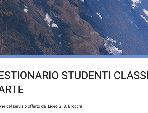 Questionario studenti classi quarte finalizzato al miglioramento del piano dell'offerta formativa
