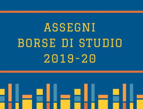 ASSEGNI E BORSE DI STUDIO 2019-20 LICEO BROCCHI