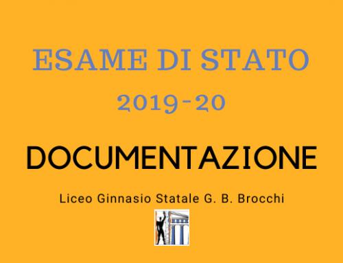 Esame di Stato 2019-20