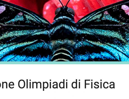 OLIMPIADI DI FISICA 2019-20 Modulo di iscrizione