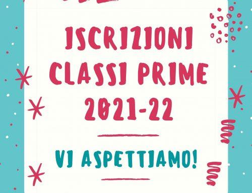 ISCRIZIONI CLASSI PRIME a. s. 2021-2022: precisazione criteri