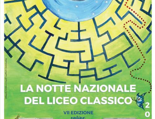 LA NOTTE NAZIONALE DEL LICEO CLASSICO 28 maggio 2021 – 16:00-20:00